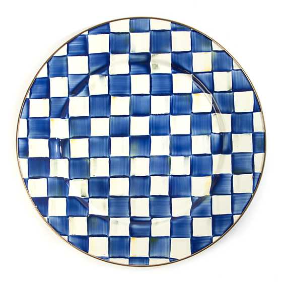 Royal Check Serving Platter image one