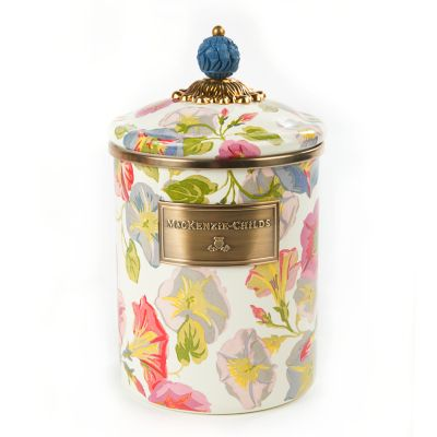 Morning Glory Canister - Medium