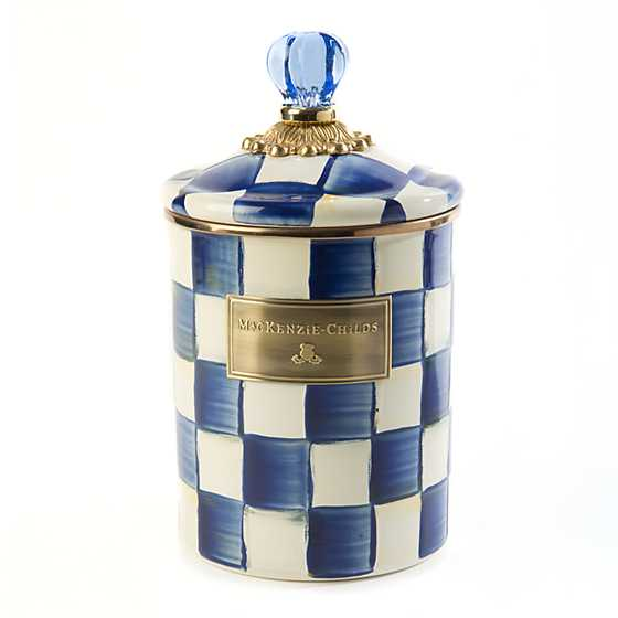Royal Check Canister - Medium image one