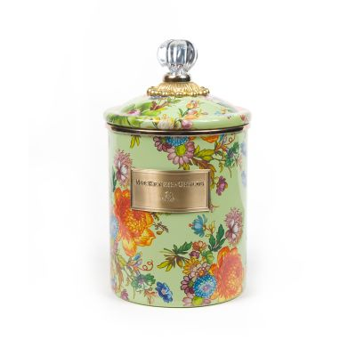 Image for Flower Market Medium Canister - Green