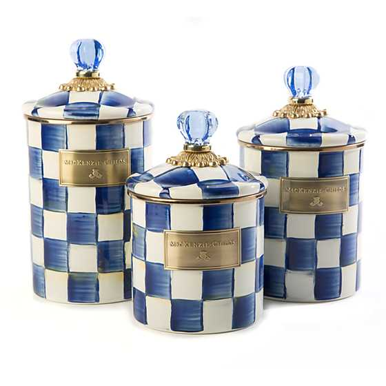 Royal Check Canister - Large image four