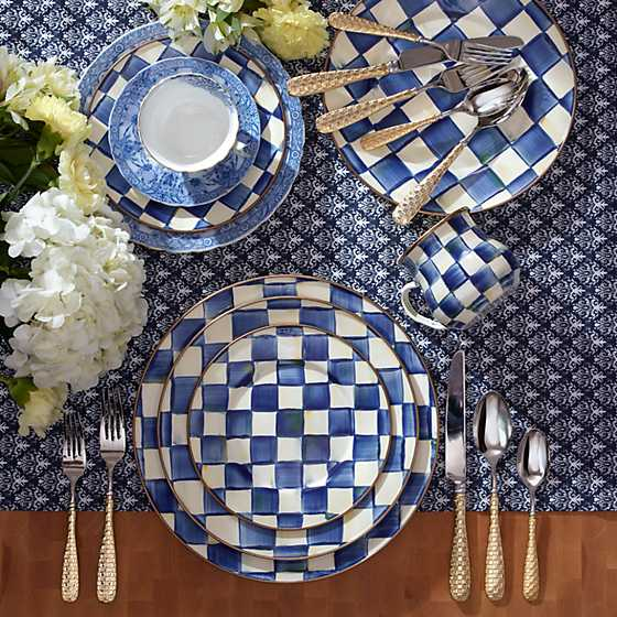 Royal Check Dinner Plate image two