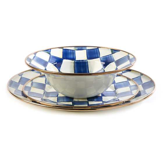 Royal Check Dinner Plate image three