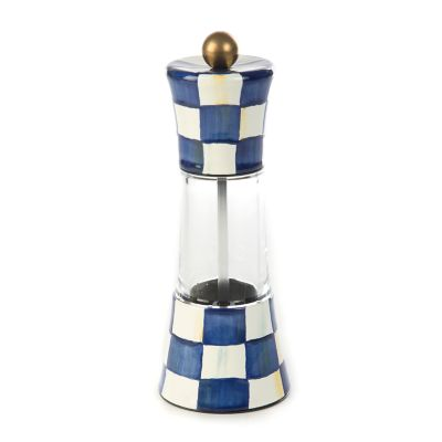 Royal Check Enamel Grinder