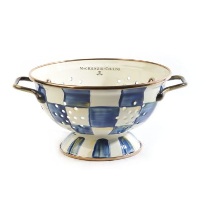 Royal Check Colander - Small