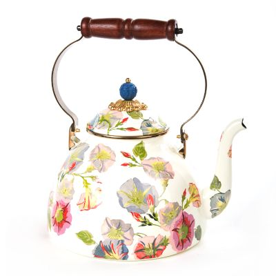 Morning Glory Tea Kettle - 3 Quart