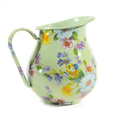 Image for Flower Market Pitcher - Green