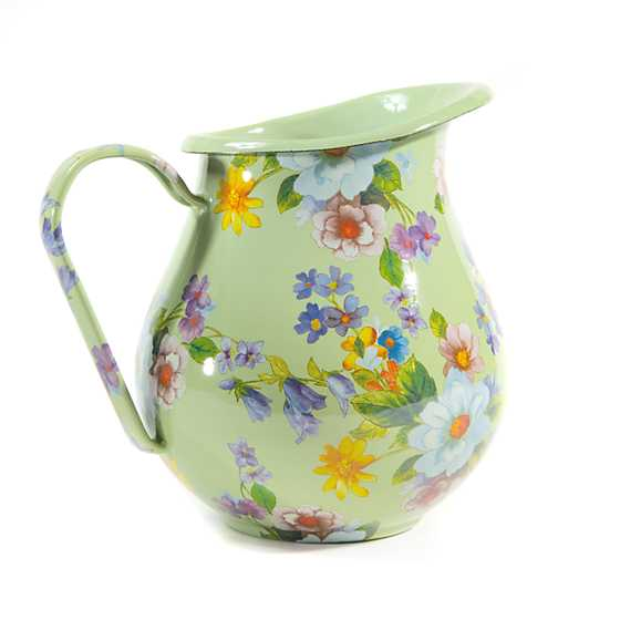 Flower Market Pitcher - Green
