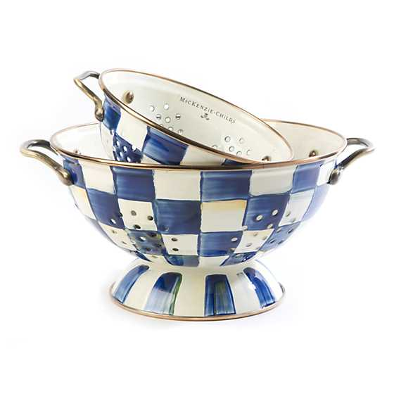 Royal Check Colander - Large image three