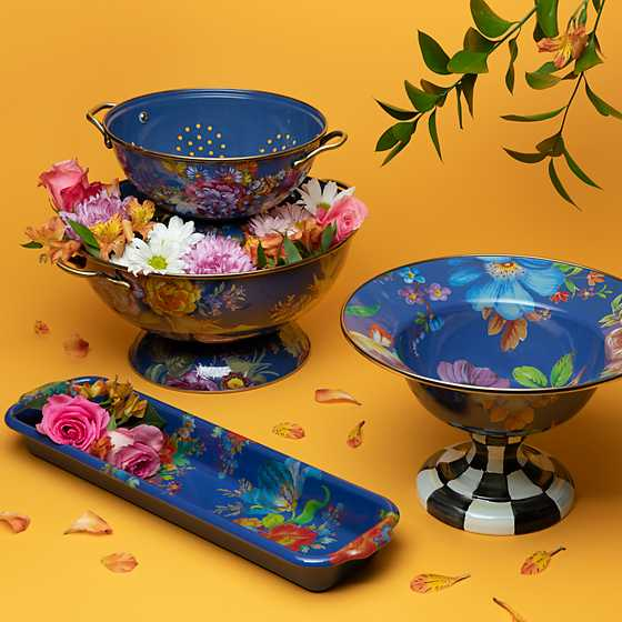 Flower Market Everything Bowl - Lapis image two