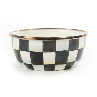 Image for Courtly Check Enamel Pinch Bowl
