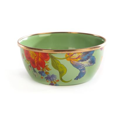 Flower Market Pinch Bowl - Green