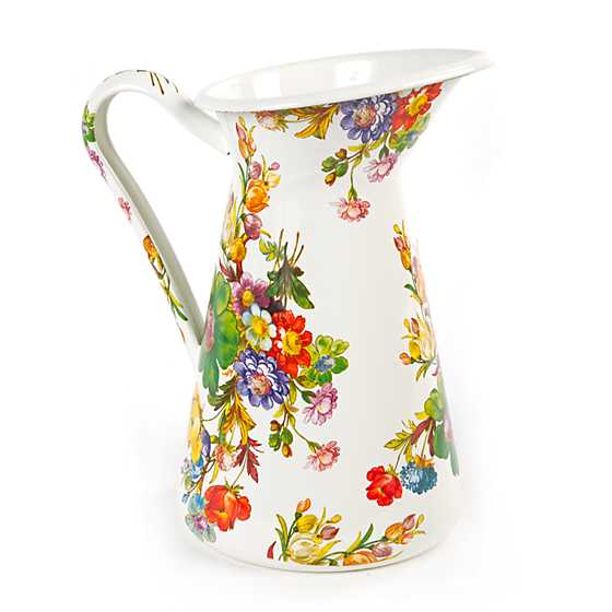 Flower Market Practical Pitcher - Large image one
