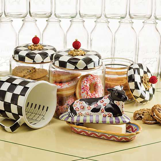 Courtly Check Kitchen Canister - Small image four