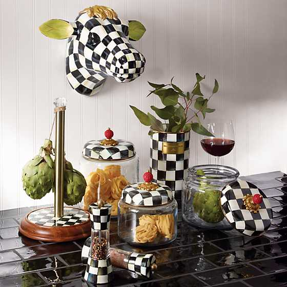 Courtly Check Kitchen Canister - Small image five
