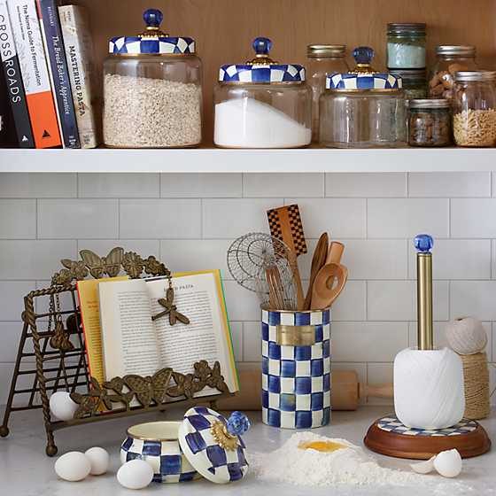 Royal Check Kitchen Canister - Large image two