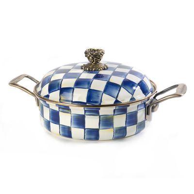 Royal Check 3 Qt. Casserole