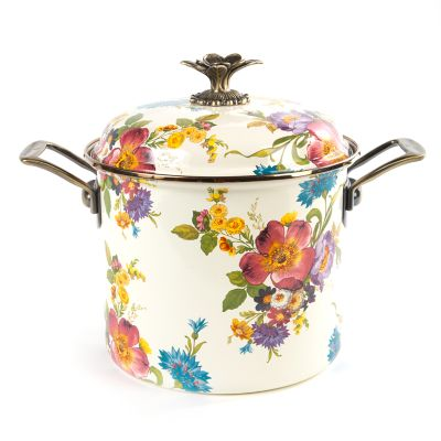 Flower Market 7 Qt. Stockpot