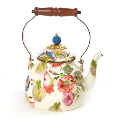 Morning Glory Tea Kettle - 2 Quart