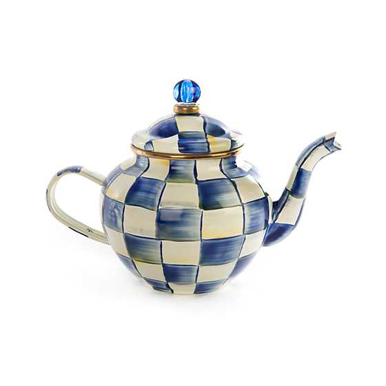 Royal Check Teapot - 4 Cup image one