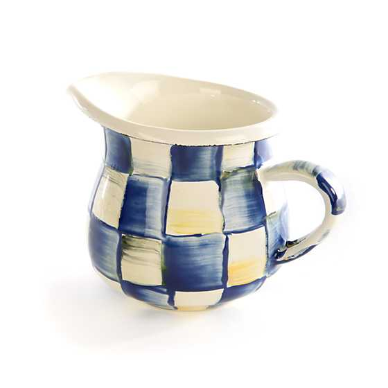Royal Check Enamel Little Creamer