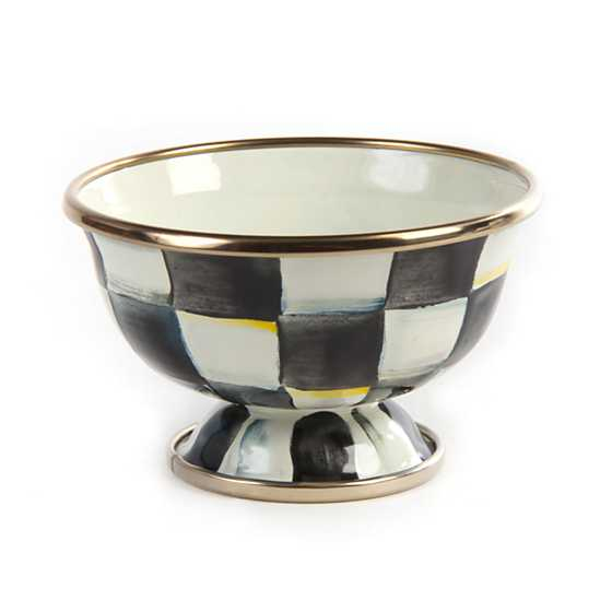 Courtly Check Enamel Little Sugar Bowl