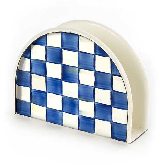 Royal Check Napkin Holder