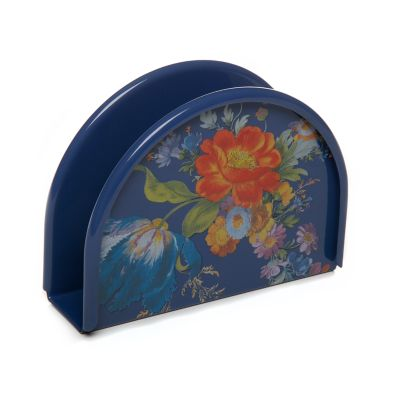 Image for Flower Market Napkin Holder - Lapis