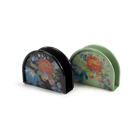 Flower Market Napkin Holder - Green image three
