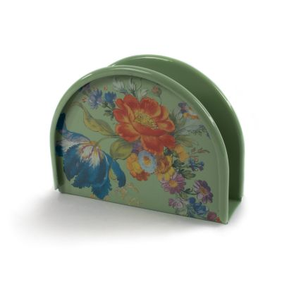 Flower Market Napkin Holder - Green