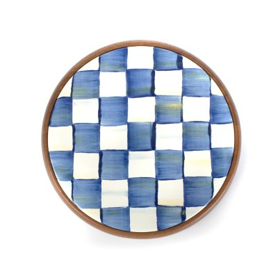 Image for Royal Check Enamel Trivet