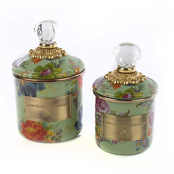 Flower Market Mini Canister - Green image three