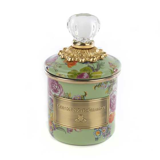 Flower Market Mini Canister - Green