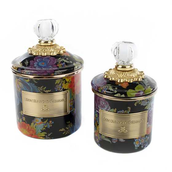 Flower Market Demi Canister - Black image three