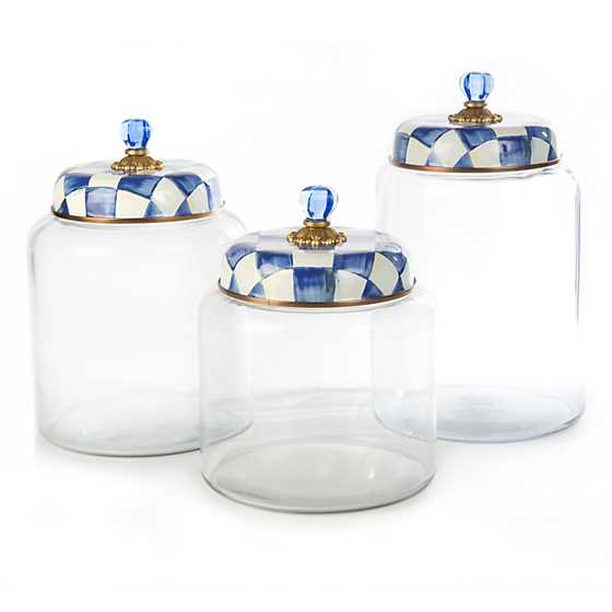 Royal Check Storage Canister - Big image three