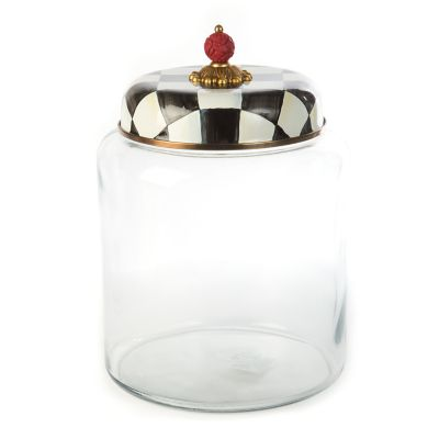 Courtly Check Storage Canister - Bigger