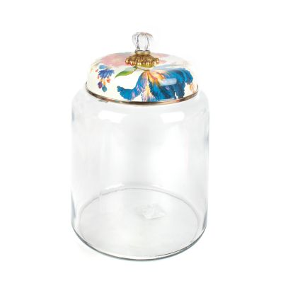 Flower Market Storage Canister - White - Bigger