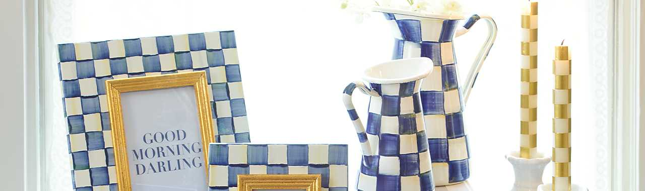 Royal Check Practical Pitcher - Small Banner Image