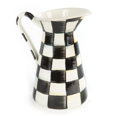 Image for Courtly Check Enamel Practical Pitcher - Medium
