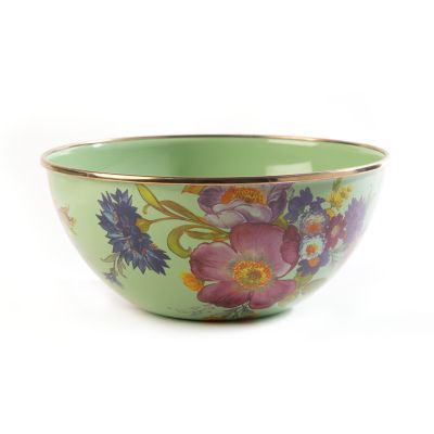 Flower Market Small Everyday Bowl - Green