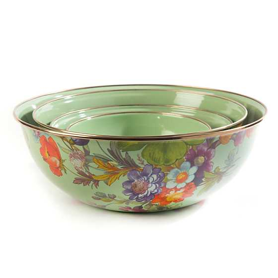 Flower Market Extra Large Everyday Bowl - Green image three