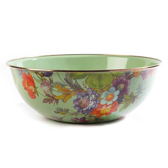 Flower Market Extra Large Everyday Bowl - Green