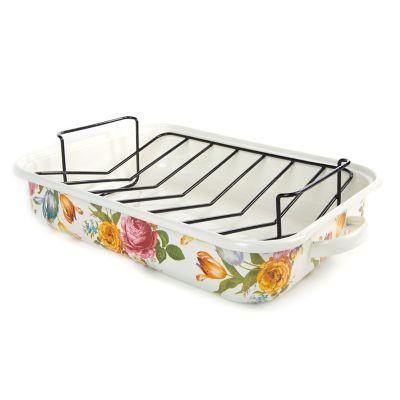 Flower Market Roasting Pan with Rack