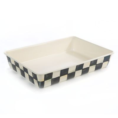 "Image for Courtly Check Enamel Baking Pan - 9"" x 13"""