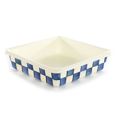 Image for Royal Check Enamel Baking Pan - 8""