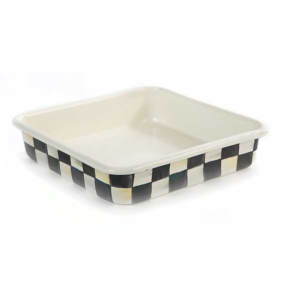 Courtly Check Enamel Baking Pan - 8""