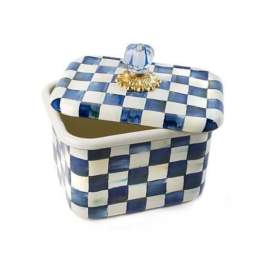 Royal Check Recipe Box image three