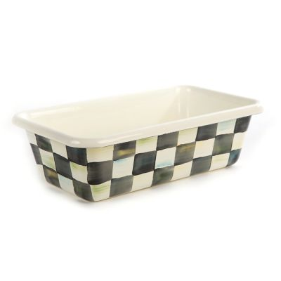 Image for Courtly Check Enamel Loaf Pan