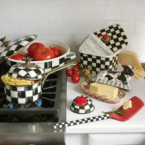 Courtly Check Kitchen Timer image seven