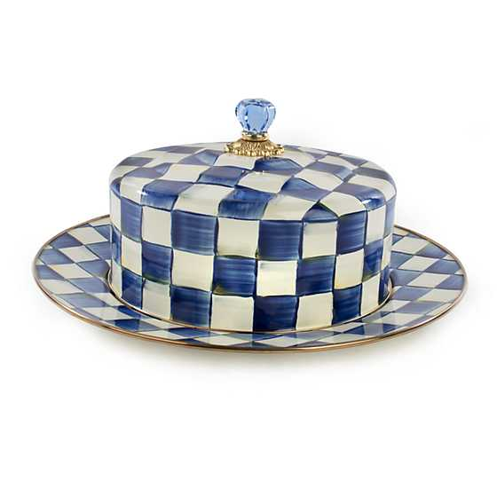 Royal Check Cake Carrier image four